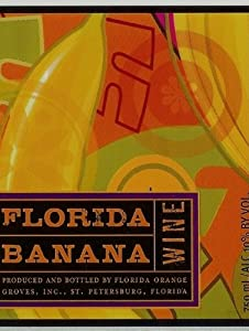 NV Florida Orange Groves Florida Banana Fruit Wine 750 mL