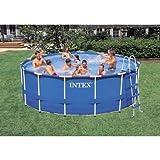 Intex Metal Frame Pool Set, 15-Feet by 48-Inch (Older Model)