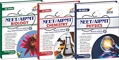 Crack NEET/ AIPMT Physics/ Chemistry/ Biology (set of 3 books) - 4th Edition (Must for AIIMS & other Medical Entrance Exams) 4 Edition