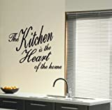 Heart Wall Transfer / Giant Removable Transfer / Huge Interior Decor Quote QU64