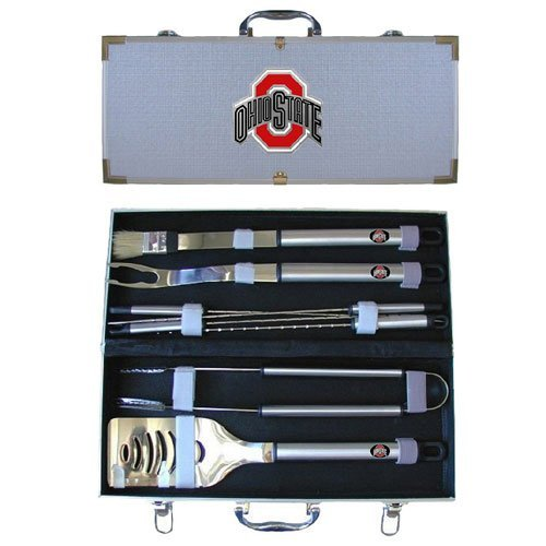NCAA Ohio State Buckeyes 8 Piece BBQ Set at Amazon.com