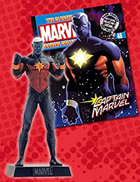 Marvel Figurine Collection #46 Captain Marvel