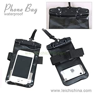 100% Waterproof Phone Bag- you can take underwater pictures, includes lanyard