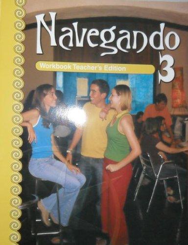 Navegando 3 Workbook Teacher's Edition