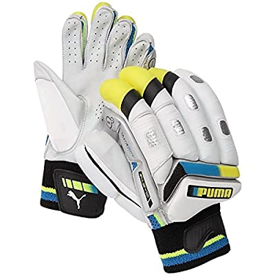 Puma Pulse 4700 Batting Gloves, Size Men's RH (White)