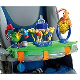 Tiny Love Grip and Grasp Stroller Toy in Green