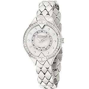 Just Cavalli R7253590501 Women's Sphinx Silver Dial Watch