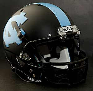 NORTH CAROLINA TAR HEELS Schutt AiR XP Authentic GAMEDAY Football Helmet UNC (MATTE... by ON-FIELD