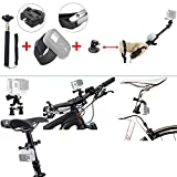 Soft Digits 42 in 1 Accessory kit Accessories for Sj4000 Sj5000 Sj6000 for Gopro Hero4 Silver Hero 4 3+ 3 for Xiaomi Yi