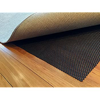 Rug Pad Non Slip. Stop Slipping with this Large Premium 6x9 Mat made from a New Foam giving Superior Grip to Reduce Rug Skidding on Hard Floors. Provides Nonslip & Padding which Felt Pads Don't