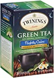 Twinings Green Tea, Nightly Calm, 20 Count Bagged Tea (6 Pack)