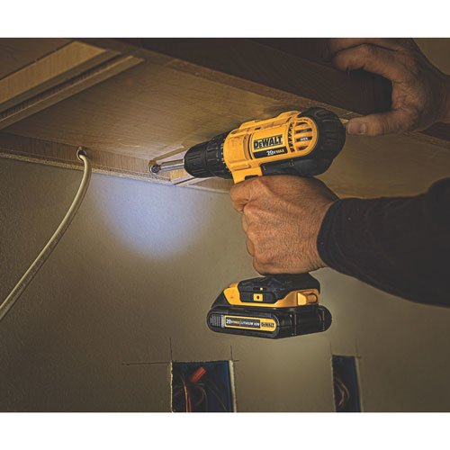Dewalt DCD771C2 20V MAX Cordless Lithium-Ion 1/2 inch Compact Drill Driver Kit via Amazon