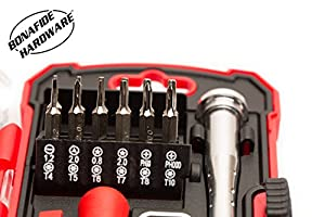 Bonafide HardwareTM - Smart Phone Repair Tool Kit 17 Piece Set Screw Driver Torx Pentalobe Cell Tools