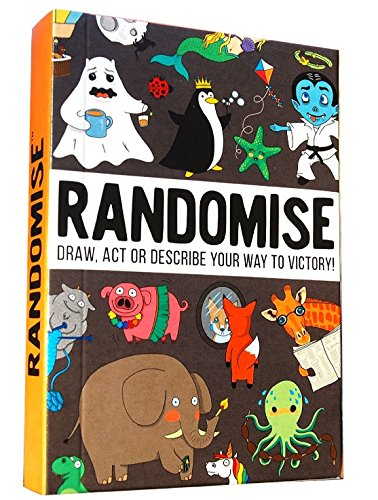 Randomise game: Draw, act or describe your way to victory by GameLY