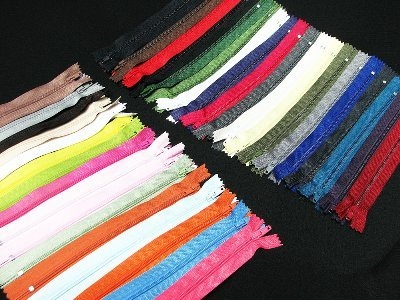 "Cheapest Price! Assorted 7"" Zippers #3 For Skirt & Dress Pack 25"