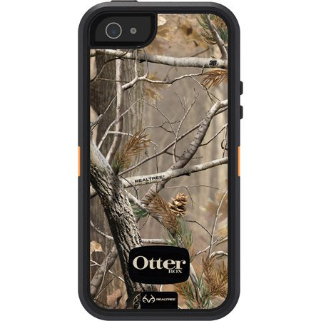 Best Price Otterbox Defender Series with Realtree Camo Case Cover for Iphone 5 Ap Blazed