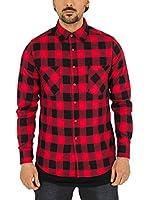 Mister Tee Camisa Hombre (Negro / Rojo)