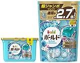 【まとめ買い】 ボールド 洗濯洗剤 液体 ジェルボール ダブルプラチナ プラチナホワイトリーフの香り 本体 352g (18個入) + 詰替用 超ジャンボサイズ 940g (48個入)