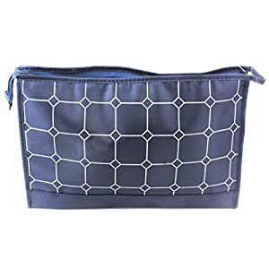 Travel Toiletry Cosmetic Makeup Bath Shower Wash Shaving Bag - Blue
