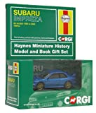 Corgi CC03012 Haynes Subaru Impreza 1:43 Scale Book and Die Cast Vehicle Gift Set