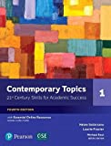 img - for NEW EDITION: Contemporary Topics 1 with Essential Online Resources (4th Edition) book / textbook / text book