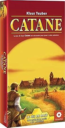 Asmodee - COK02N -  Jeu de stratégie - Extension 5/6 joueurs pour Catane