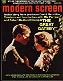 Modern Screen Magazine; June 1974 (The Great Gadsby cover) (Vol. 68, No. 6)