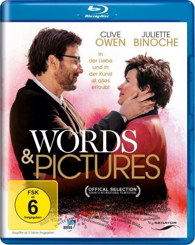 Words and Pictures [Blu-ray]