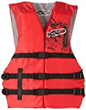 Search : X20 Universal Adult Life Jacket Vest - Red & Black