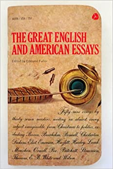 american essays book Librivox recording of oxford book of american essays read by james e carson collection of 32 essays by american authors ranging from benjamin frannklin to.
