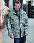 Classic M65 Army Combat Parka Field Jacket Mens Coat AT-DIGITAL, SIZE XL