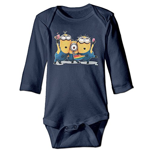 Despicable-Me-Minions-Banana-Organic-Cotton-Baby-Boy-Girl-Long-Sleeve-Playsuit