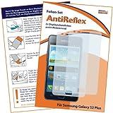 2 x mumbi Displayschutzfolie Samsung Galaxy S2 Plus Schutzfolie AntiReflex antireflektierend - NICHT S2 ohne PLUS