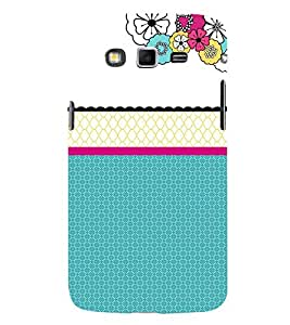 Floral Pattern 3D Hard Polycarbonate Designer Back Case Cover for Samsung Galaxy Grand Neo Plus :: Samsung Galaxy Grand Neo Plus i9060i