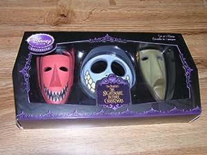 Amazon Com Nightmare Before Christmas Set Of 3 Masks Lock