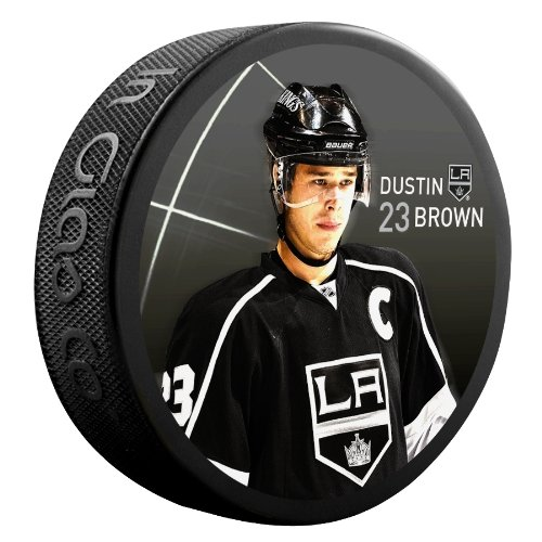 Reebok-Sher-Wood-Dustin-Los-Angeles-Kings-NHL-Marron-Palet-Player-Star