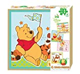 Disney Baby Winnie The Pooh 4 Wood Jigsa...