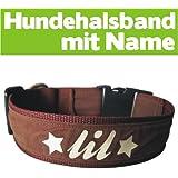 Hundehalsband mit Name (51-60cm)
