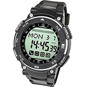 [Lad Weather] Smart Watch for iPhone and Android / SNS app schedule notice Digital smart watch for Men