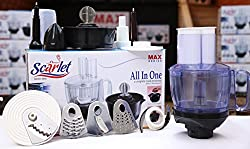 Scarlet Max Series all in one food processor