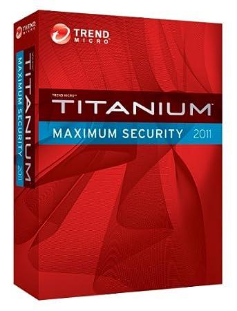 Trend Micro Titanium Maximum Security 2011 - 3 User [Old Version]