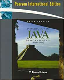 introduction to java programming pdf daniel liang