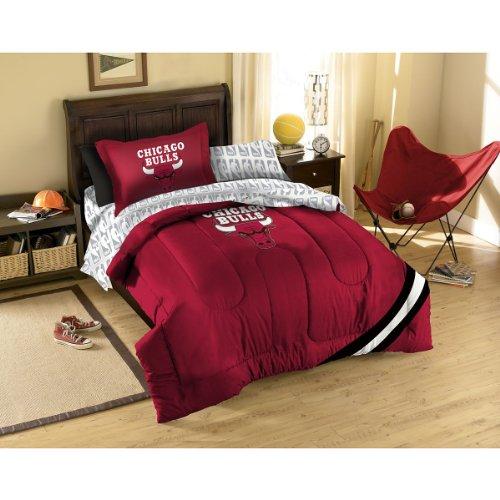 Nba Chicago Bulls Bedding Set, Twin front-885750