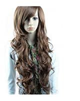 New Two Tone Long Wavy Highlight Hair Wig Wigs