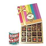 Best Truffles Collection Of Chocolates With New Year Mug - Chocholik Belgium Chocolates