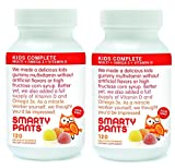 Smartypants Vitamins Gummy Vitamins with Omega 3 Fish Oil and Vitamin D, 120 Count (Pack of 2)