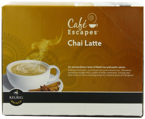 Check Out This Café Escapes Chai Latte, K-Cup Portion Pack for Keurig Brewers, 24-Count