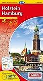 ADFC-Radtourenkarte 2 Holstein Hamburg 1:150.000, reiß- und wetterfest, GPS-Tracks Download und Online-Begleitheft