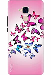 Noise Designer Printed Case / Cover for Honor 5C / Nature / Butterflies Design