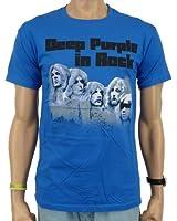 Deep Purple - In Rock Band T-Shirt, blau